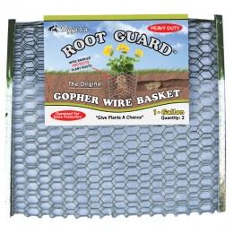 1 Gallon Root Guard Heavy Duty Basket Cosmetic Seconds -- Case of 36 Pairs of 2 (72 baskets) -- Sold by the case only
