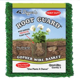 Quart Size Root Guard Heavy Duty Basket, 6-pack