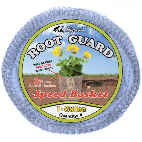 1 Gallon Root Guard Speed Basket, bag of 4