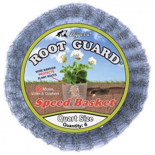 Quart Root Guard Speed Basket, bag of 6