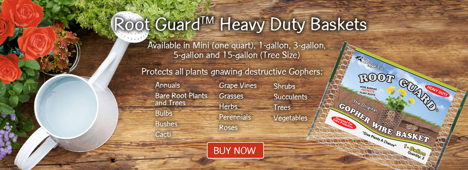 Root Guard Heavy Duty Baskets